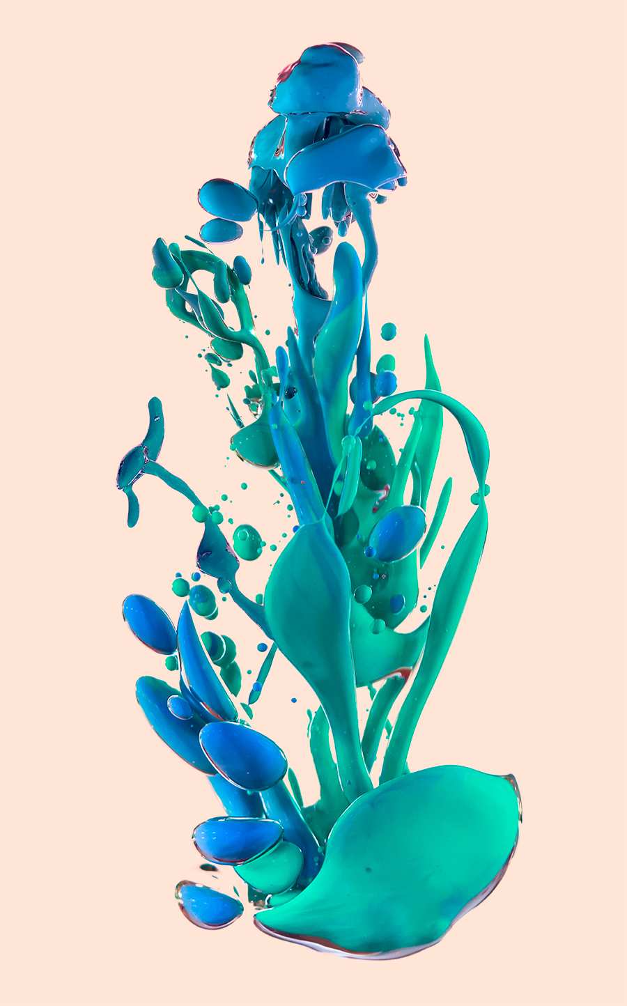 Glory POP Alberto Seveso - New incredible underwater ink photographs alberto seveso